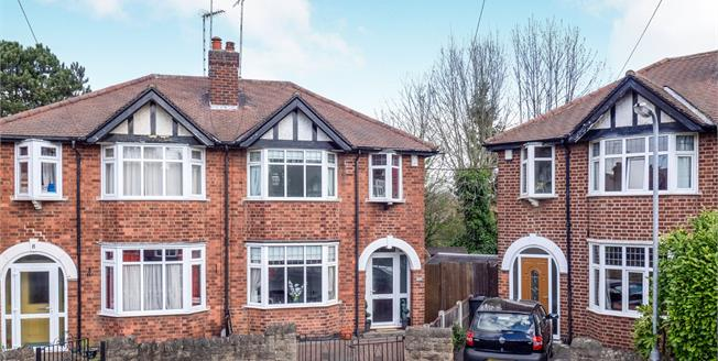 Asking Price £250,000, 3 Bedroom Semi Detached House For Sale in Beeston, NG9