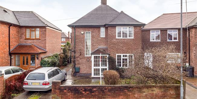 Asking Price £330,000, 3 Bedroom Detached House For Sale in Bramcote, NG9