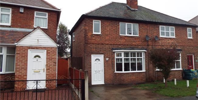 Asking Price £165,000, 3 Bedroom Semi Detached House For Sale in Sandiacre, NG10
