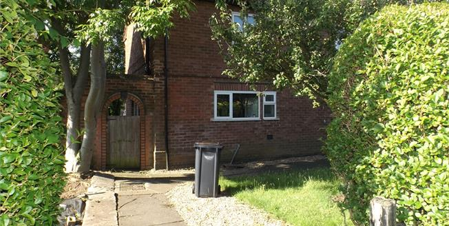 Guide Price £175,000, 3 Bedroom Semi Detached House For Sale in Bramcote, NG9