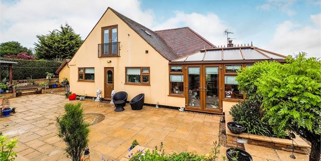 Guide Price £475,000, 4 Bedroom Detached Bungalow For Sale in Trowell, NG9