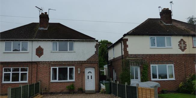 Guide Price £165,000, 3 Bedroom Semi Detached House For Sale in Cosby, LE9