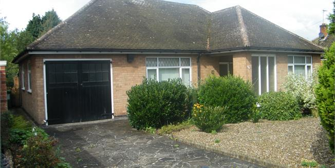 Guide Price £220,000, 2 Bedroom Detached Bungalow For Sale in Narborough, LE19