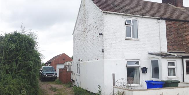 Asking Price £95,000, 2 Bedroom End of Terrace House For Sale in Moulton Marsh, PE12