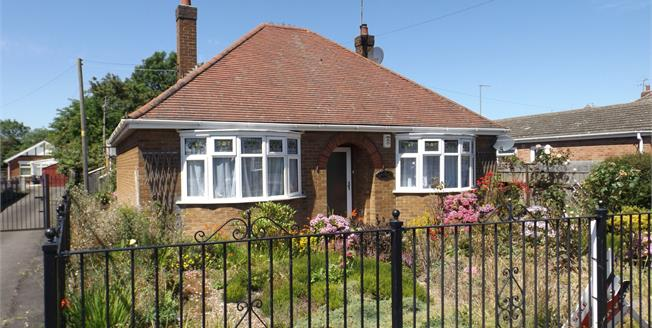 Guide Price £100,000, 2 Bedroom Detached Bungalow For Sale in Boston, PE21