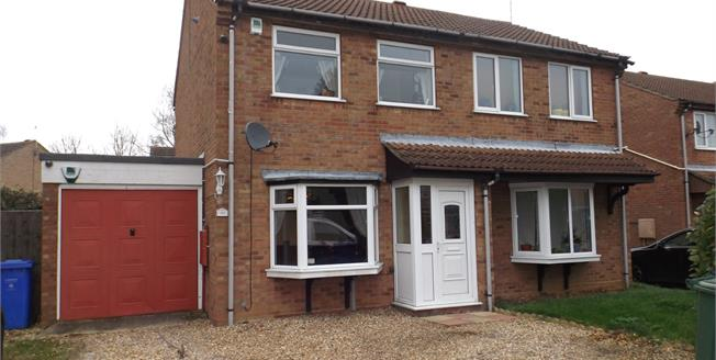 Offers in excess of £110,000, 2 Bedroom Semi Detached House For Sale in Boston, PE21