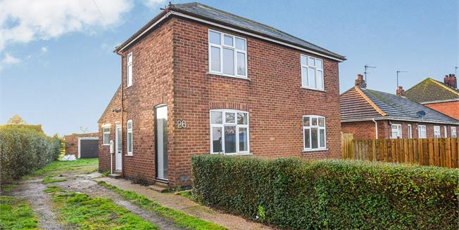 Asking Price £160,000, 2 Bedroom Detached House For Sale in Amber Hill, PE20