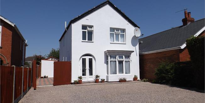Asking Price £180,000, 3 Bedroom Detached House For Sale in Boston, PE21