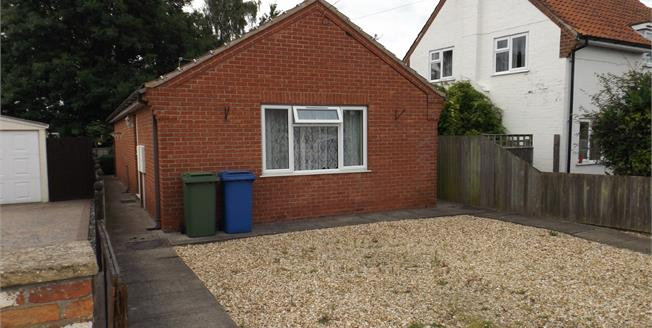 Asking Price £124,950, 2 Bedroom Detached Bungalow For Sale in Boston, PE21
