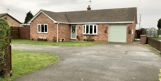 Asking Price £215,000, 2 Bedroom Detached Bungalow For Sale in Butterwick, PE22