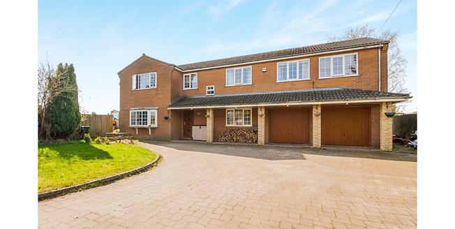 Asking Price £469,950, 5 Bedroom Detached House For Sale in Friskney, PE22