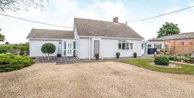 Asking Price £375,000, 3 Bedroom Detached Bungalow For Sale in Eastville, PE22