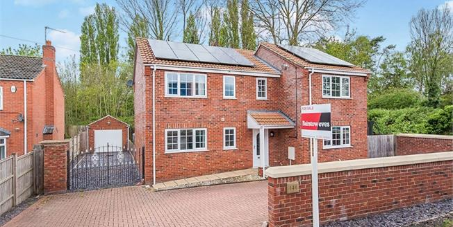 Asking Price £269,950, 4 Bedroom Detached House For Sale in Boston, PE21