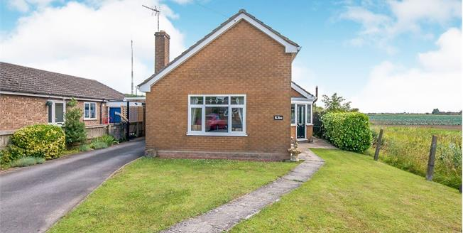 Asking Price £219,950, 2 Bedroom Detached Bungalow For Sale in Sutterton, PE20