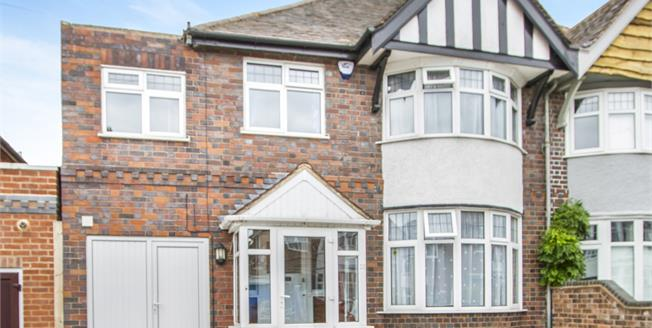 Asking Price £280,000, 5 Bedroom Semi Detached House For Sale in Birstall, LE4