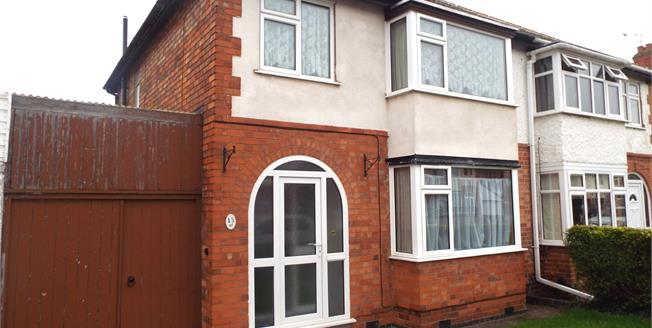 Asking Price £165,000, 3 Bedroom Semi Detached House For Sale in Birstall, LE4