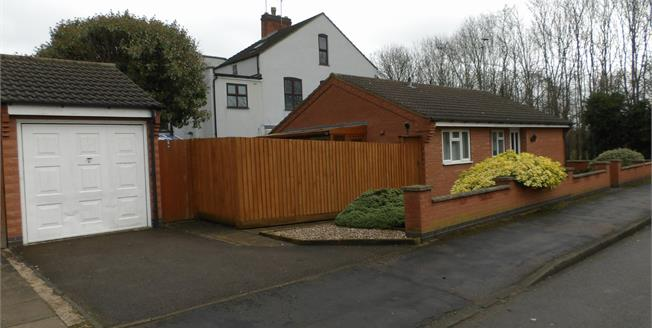 Guide Price £250,000, 2 Bedroom Detached Bungalow For Sale in Birstall, LE4