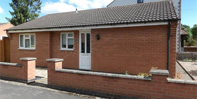Offers Over £230,000, 2 Bedroom Detached Bungalow For Sale in Birstall, LE4