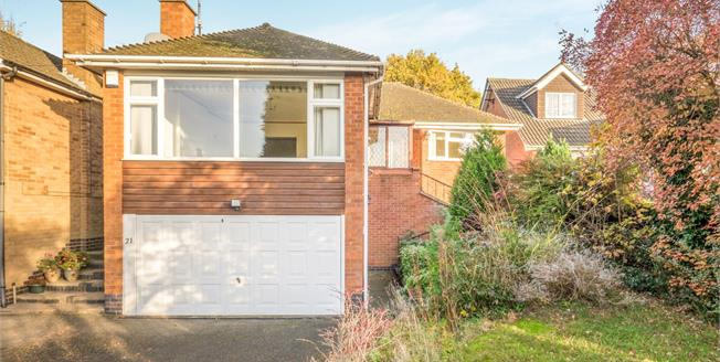 Offers Over £305,000, 2 Bedroom Detached Bungalow For Sale in Birstall, LE4