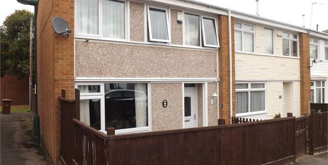Offers Over £100,000, 2 Bedroom End of Terrace House For Sale in Nottingham, NG11
