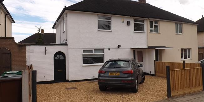 Offers Over £135,000, 3 Bedroom Semi Detached House For Sale in Nottingham, NG11