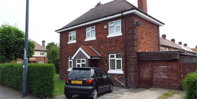 Asking Price £110,000, 3 Bedroom Semi Detached House For Sale in Derby, DE24