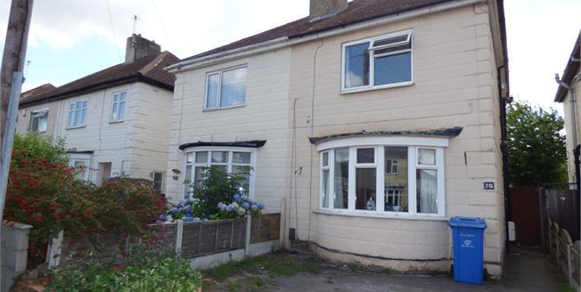 Offers Over £110,000, 3 Bedroom Semi Detached House For Sale in Alvaston, DE24