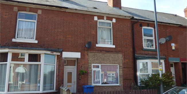 Guide Price £100,000, 3 Bedroom Terraced House For Sale in Alvaston, DE24