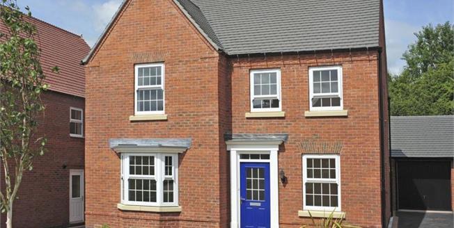 £349,995, 4 Bedroom Detached House For Sale in Hilary Bevins Close, CV13