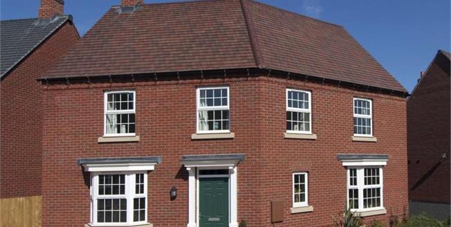 £324,995, 4 Bedroom Detached House For Sale in Hilary Bevins Close, CV13