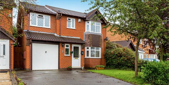Offers in excess of £275,000, 4 Bedroom Detached House For Sale in Hinckley, LE10