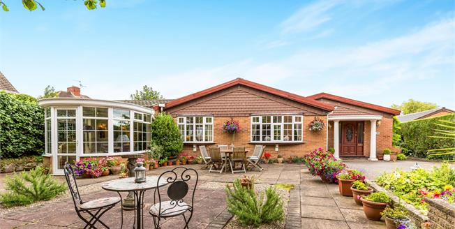 Offers in excess of £300,000, 4 Bedroom Detached Bungalow For Sale in Hinckley, LE10