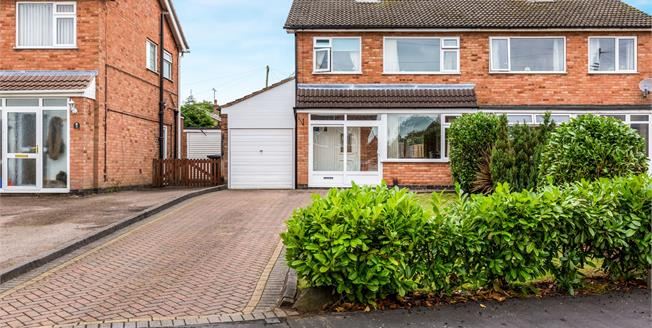 Offers Over £180,000, 3 Bedroom Semi Detached House For Sale in Hinckley, LE10