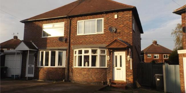 Offers in the region of £110,000, 2 Bedroom Semi Detached House For Sale in Hucknall, NG15