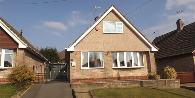 Offers in the region of £165,000, 3 Bedroom Detached Bungalow For Sale in Newthorpe, NG16