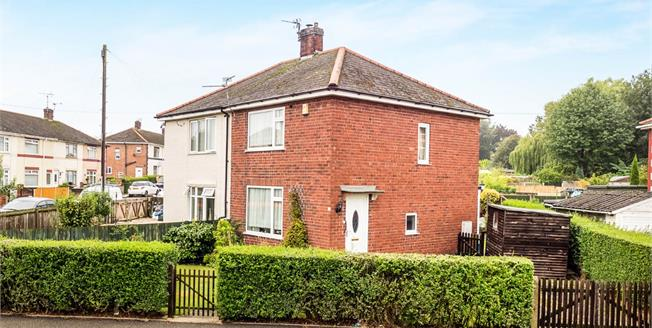 Offers in the region of £100,000, 2 Bedroom Semi Detached House For Sale in Hucknall, NG15
