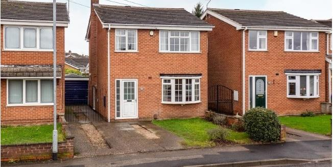 Offers Over £170,000, 3 Bedroom Detached House For Sale in Hucknall, NG15