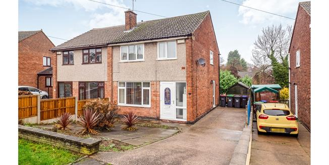Offers in the region of £165,000, 3 Bedroom Semi Detached House For Sale in Hucknall, NG15