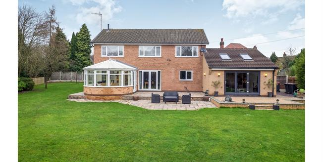 Offers in the region of £550,000, 5 Bedroom Detached House For Sale in Hucknall, NG15