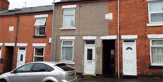 Offers in the region of £90,000, 2 Bedroom Terraced House For Sale in Hucknall, NG15