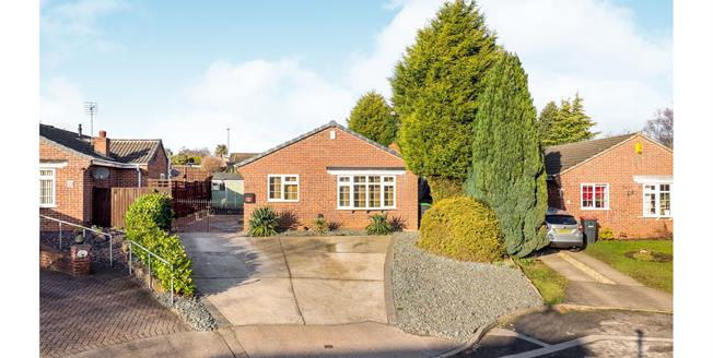 Offers Over £220,000, 3 Bedroom Detached Bungalow For Sale in Hucknall, NG15