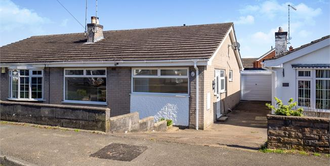 Asking Price £180,000, 2 Bedroom Semi Detached Bungalow For Sale in Hucknall, NG15