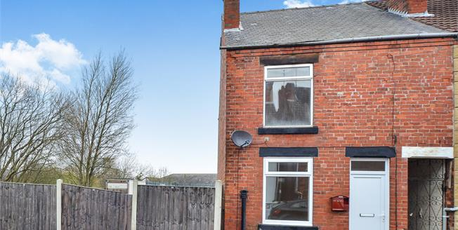 Guide Price £90,000, 2 Bedroom End of Terrace House For Sale in Kirkby-in-Ashfield, NG17