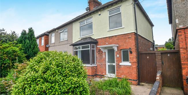 Offers Over £120,000, 3 Bedroom Semi Detached House For Sale in Kirkby-in-Ashfield, NG17