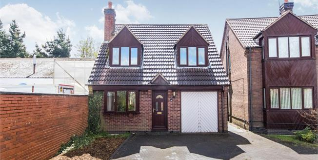 Offers Over £160,000, 3 Bedroom Detached House For Sale in Kirkby-in-Ashfield, NG17