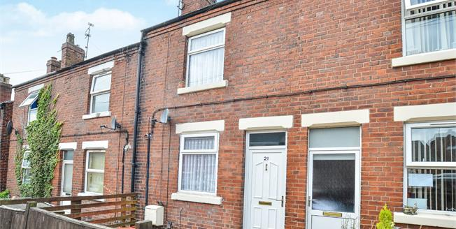 Offers Over £70,000, 3 Bedroom Terraced House For Sale in Kirkby-in-Ashfield, NG17