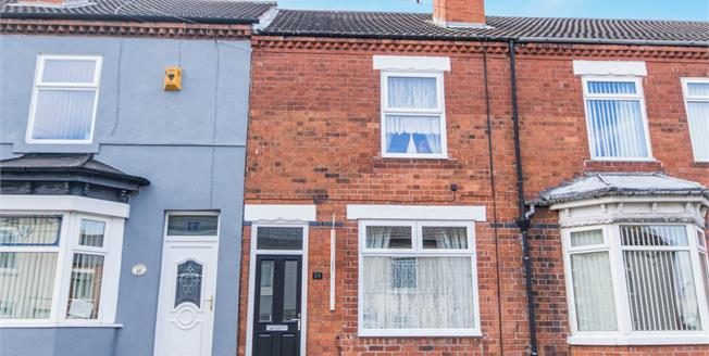 Offers Over £80,000, 2 Bedroom Terraced House For Sale in Kirkby-in-Ashfield, NG17