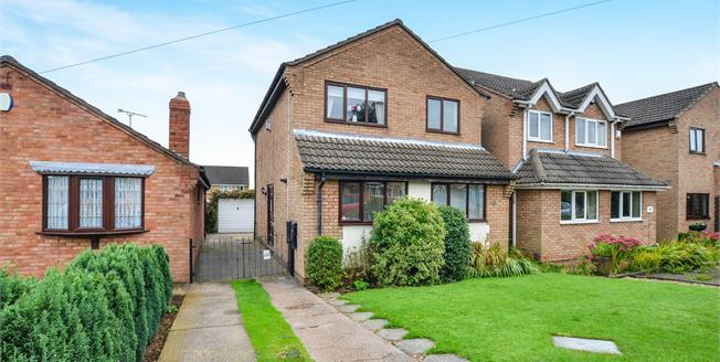 Offers Over £130,000, 3 Bedroom Detached House For Sale in Kirkby-in-Ashfield, NG17