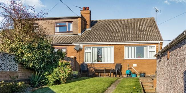 Offers Over £130,000, 2 Bedroom Semi Detached Bungalow For Sale in Kirkby-in-Ashfield, NG17