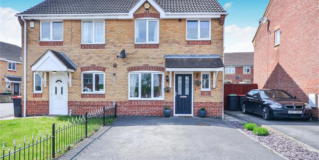 Offers Over £130,000, 3 Bedroom Semi Detached House For Sale in Kirkby-in-Ashfield, NG17